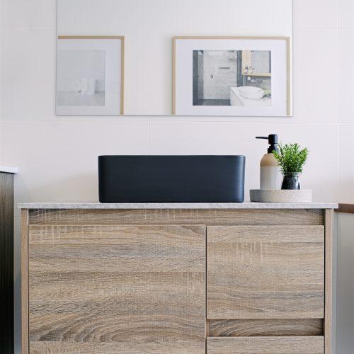 Ash Grey Timber vanity