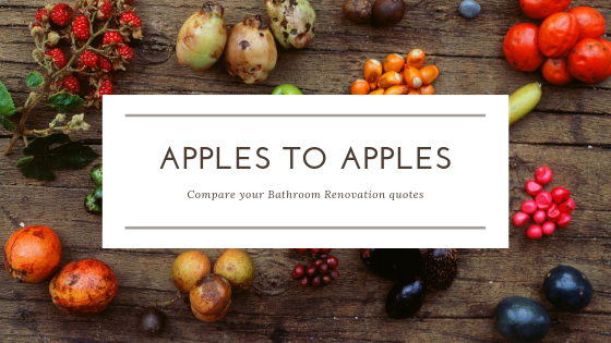Apples and exotic fruits