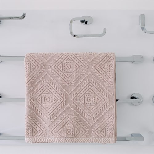 Towel rails, robe hooks, toilet roll holders in chrome, black and brushed steel